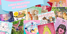 ジグソーパズル:女の子のためのゲームのおすすめ画像2