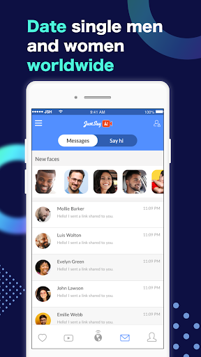 Just Say Hi Online Dating App. Chat & Meet Singles 6.5.0 Screenshots 5