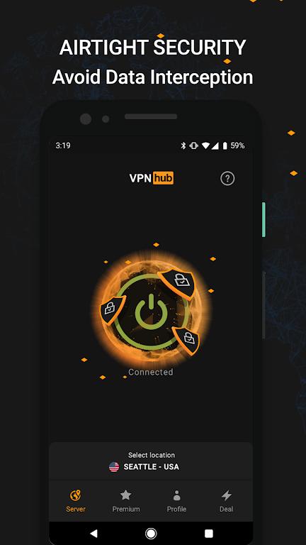 VPNhub Best Free Unlimited VPN - Secure WiFi Proxy  poster 4