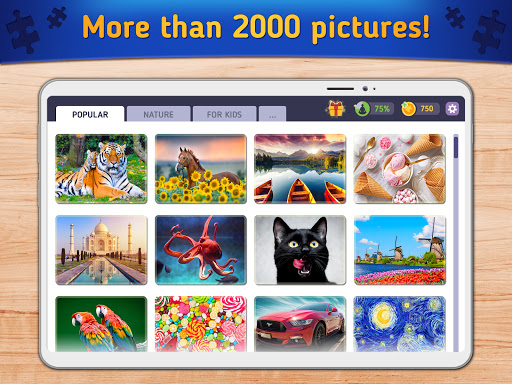 Relax Jigsaw Puzzles android2mod screenshots 7