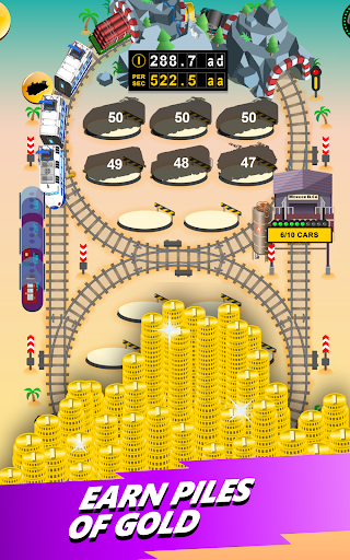 Train Merger - Idle Manager Tycoon  screenshots 9