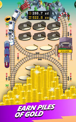 Train Merger - Idle Manager Tycoon apktram screenshots 16