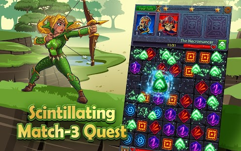 Heroes and Puzzles Screenshot