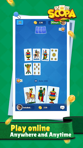 Scopa:Italian Card Game online 1.1.9.0 screenshots 4