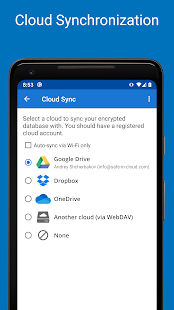 Password Manager SafeInCloud Pro Screenshot