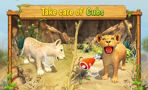 Lion Family Sim Online - Animal Simulator 4.2 screenshots 4