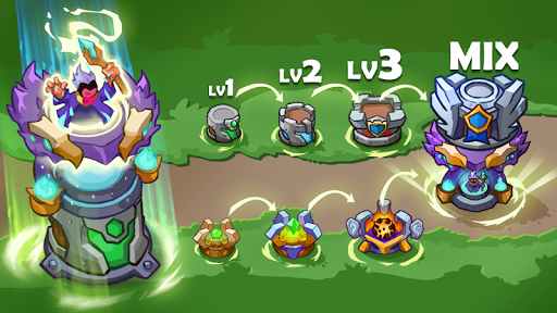 King of Defense Premium: Tower Defense Offline android2mod screenshots 3