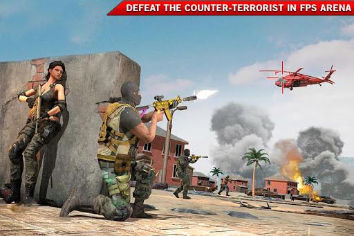 Modern FPS Shooting Strike: Counter Terrorist Game apklade screenshots 1