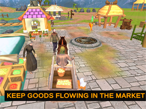 Horse Cart Offroad Farming Transport Simulator 1.2 screenshots 15