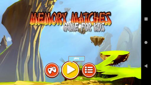 memory game matches for kids - train your brain screenshot 1