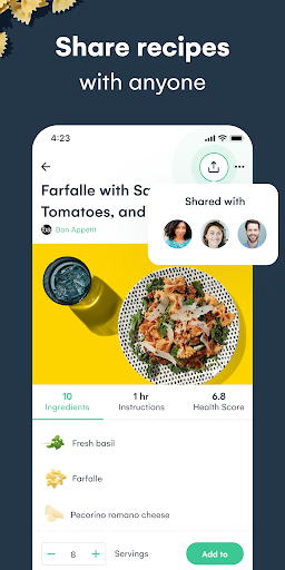 Whisk: Recipe Saver, Meal Planner & Grocery List 1.6.1 screenshots 5