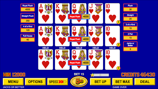 Video Poker - Classic Casino Games Free Offline 1.5.0 screenshots 1