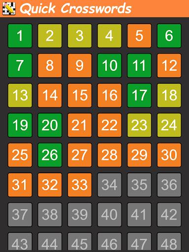 Quick Crosswords (English) 1.5.3 screenshots 5