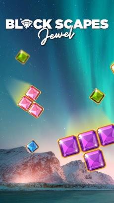 ブロックスケープ ジュエル - クラシックなブロックパズルゲームのおすすめ画像1