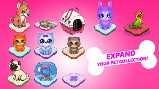 Merge Cute Animals: Cat & Dog  screenshots 2