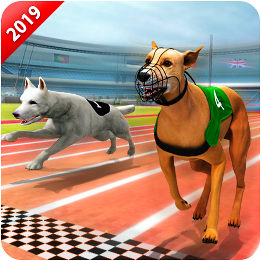 Crazy Wild Dog Racing Fever Sim 3D - Dog Race 2019