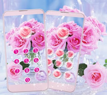 Pink Rose Love Theme 1.2.2 Android Mod + APK + Data 3