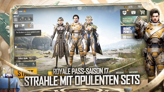 PUBG MOBILE – MACHT DER RUNEN Screenshot