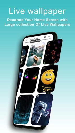 4K Wallpapers - HD, Live Backgrounds, Auto Changer 7.0 Screenshots 2