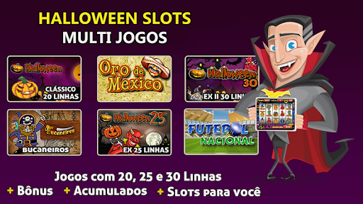 Halloween Slots 30 Linhas Multi Jogos apkdebit screenshots 6