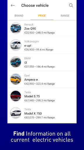 EnBW mobility+ Compare & Charge Electric Cars 6.7.0 Screenshots 4