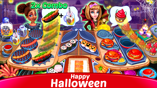 Halloween Cooking : Chef Restaurant Cooking Games apktram screenshots 6