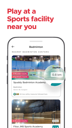 Fitso by Zomato: Badminton, Swimming, Tennis, Gym android2mod screenshots 2