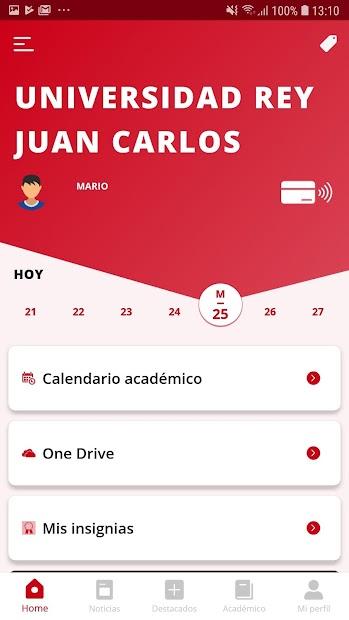 Captura 3 de URJC App Univ. Rey Juan Carlos para android