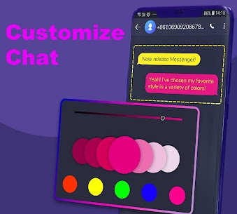 Hii – SMS Messenger and caller app 4