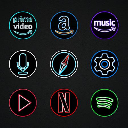 Pixly Dark - Icon Pack v2.3.2