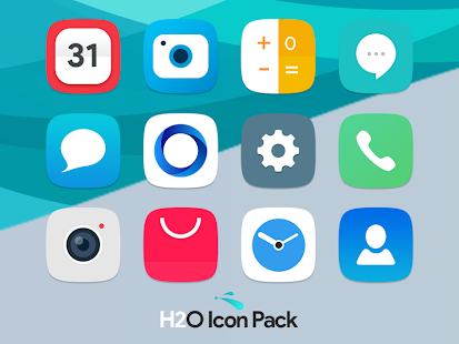 H2O Free Icon Pack Screenshot