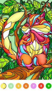 Color.Fun - Color by Number Paint Coloring Book screenshots 6