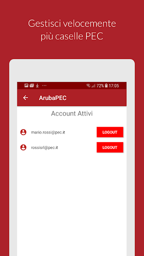 Aruba PEC Mobile apktram screenshots 5