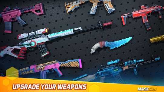 MaskGun Online multiplayer FPS shooting gun game Apk Lastest Version 2021** 10