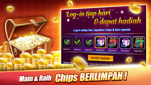 Domino : LUXY Domino & Poker - Gaple QiuQiu Remi 5.2.3.0 screenshots 7