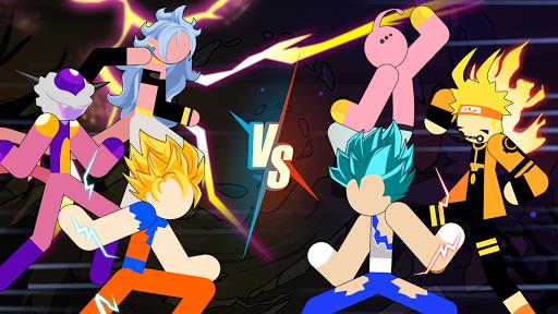 Stickman Dragon Fight - Super Stick Warriors 1.1.2 screenshots 4