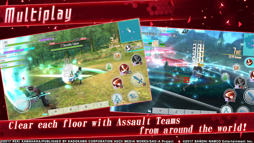 Code Triche Sword Art Online: Integral Factor (Astuce) APK MOD screenshots 4