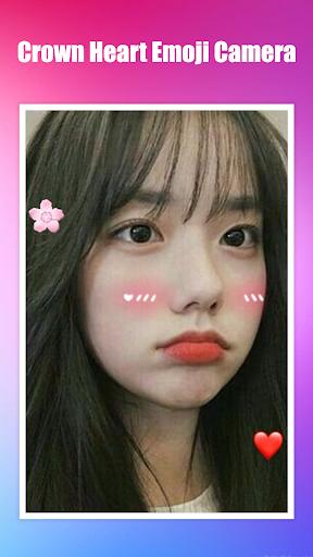 Crown Heart Emoji Camera 1.3.2 Screenshots 5