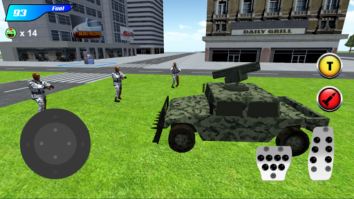 x ray robot : zombie offroad screenshot 1