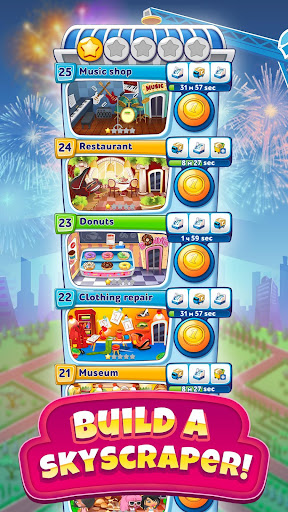 Pocket Tower: Building Game & Megapolis Kings screenshots 1