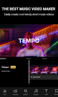 Tempo - Music Video Editor with Effects Screenshot