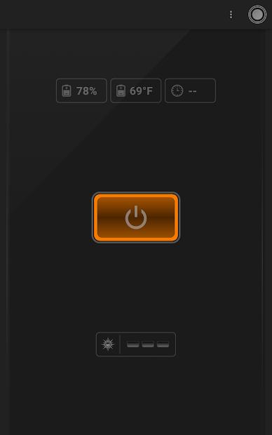 Captura 9 de Linterna - Tiny Flashlight ® para android