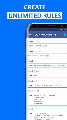 Foto do AutoResponder for FB Messenger - Auto Reply Bot