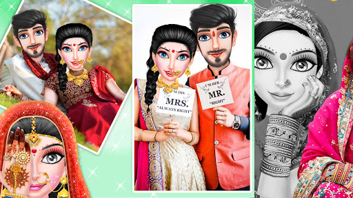 Indian Wedding Girl - Makeup Dressup Girls Game 1.0.3 screenshots 4