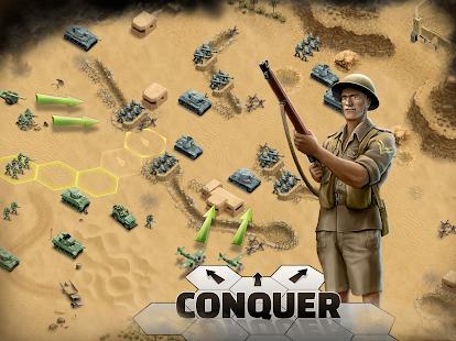 1943 Deadly Desert - a WW2 Strategy War Game screenshots 16
