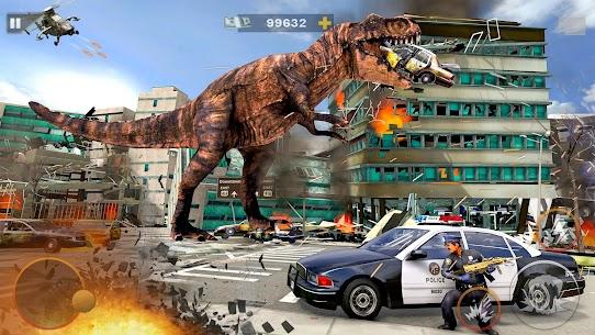 Monster Dinosaur Rampage  Angry King Kong Games Apk İndir 4
