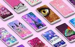screenshot of Glitter Wallpapers ✨