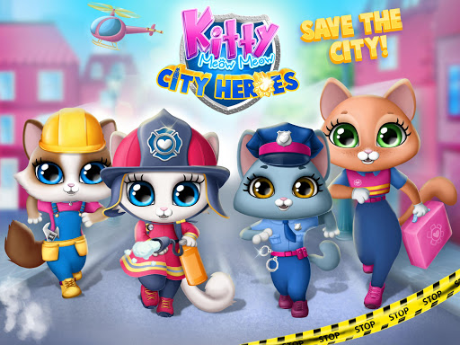 Kitty Meow Meow City Heroes - Cats to the Rescue! 4.0.21003 screenshots 9