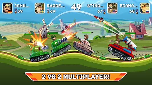 Hills of Steel 3.5.1 (MOD, Unlimited Coins)