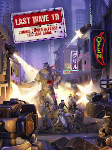 Last Wave TD: Zombie Tower Defense Tactical Game 0.29 screenshots 1